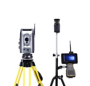 Trimble S9 1 Dr Hp Robotic Total Station Kit W Tsc7 Data Collector Access