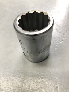 25mm Blackhawk 3 4 Drive Short 12 Point Socket Made In The Usa By Proto