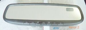 Subaru Forester Impreza Rear View Mirror Oem Auto Dimming Homelink Compass