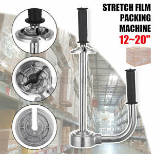 12 20 Steel Stretch Wrap Film Packing Machine Roller Adjustable Heavy Type Us