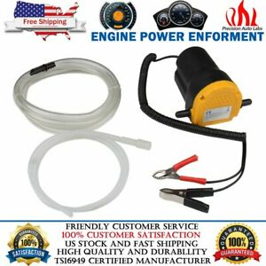 12v Electric Motor Oil Diesel Extractor Scavenge Suction Transfer Change Pump