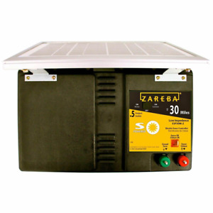 30 Mile Solar Low Impedance Fence Charger