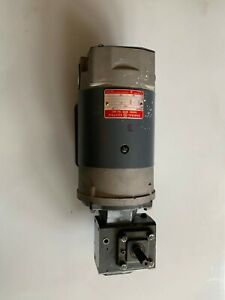 Ge Right Angle Gearmotor Model 5bcd56nd2a Dc Motor Controller Included