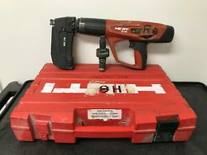 Hilti Dx 460 Powder Actuated Tool With Mx 72 Nail Magazine
