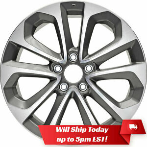 New Set Of 4 18 Replacement Alloy Wheels And Centers For 2008 2017 Honda Accord