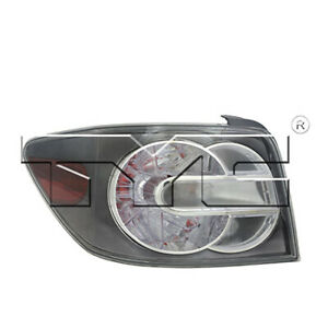 Fits 2007 2009 Mazda Cx 7 Tail Light Driver Side Capa Certified W bulbs