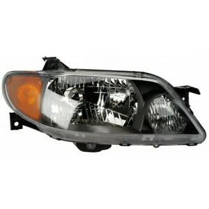 Ma2503120 Fits 2001 2003 Mazda Protege Head Light Passenger Side W Bulbs Sedan