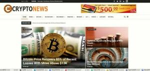 Turnkey Wordpress Cryptocurrency News Website Script