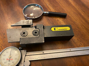 Parting cutoff Lathe Tool kbcr 16c3b Kennametal Excellent Condition