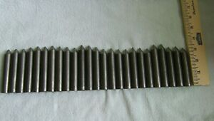 25 Pcs 4140 Cr Annealed 5 8 Dia Usa Made Steel Bars Around 7 Feet Metal Rods