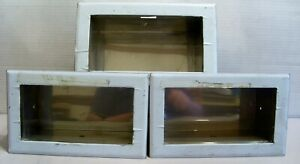 3 Bradley Heavy Gauge Stainless Steel Cabinets For In Wall Soap Dispenser 643
