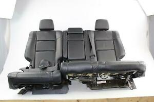 2014 Jeep Grand Cherokee Black Leather 2nd Row Rear back Seat Oem