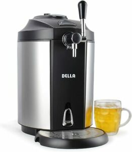 New Della 5l Mini Kegerator Dispenser Beer Cooler 048 gm 48333