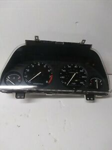 1990 1993 Acura Integra M t Instrument Cluster Speedometer Tested