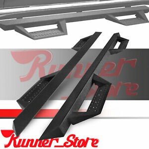 For 2015 2020 Ford F 150 Super Crew Cab 4 5 Running Board Side Step Nerf Bar Bz