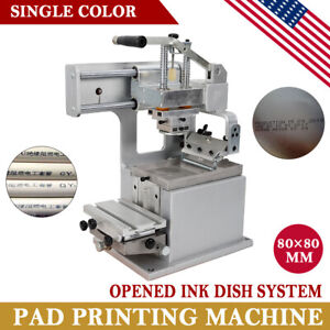 Single color Manual Pad Printer Pad Printing Machine Label Logo Diy Transfer Us
