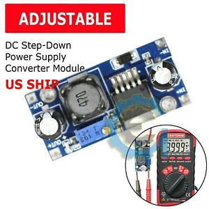 Lm2596s Dc dc 3a Buck Adjustable Step down Power Supply Converter Module Arduino