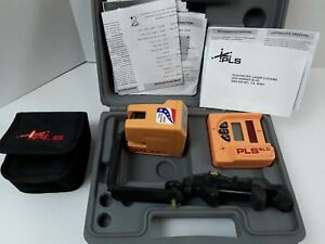 Pacific Laser Systems Pls180 Red Cross Line Laser Kit