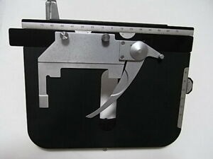 Nikon X y Mechanical Microscope Stage And Slide Holder Labophot Optiphot