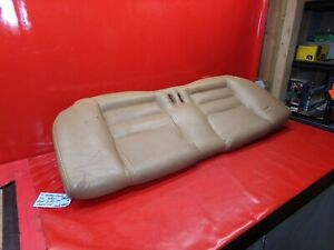 Mustang Coupe 94 98 Tan Saddle Brown Leather Rear Back Seat Lower Cushion Look