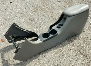 1994 1998 Ford Mustang Gt V6 Center Console Dual Cup Armrest Lid Gray Grey