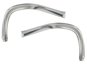 New 1968 69 Torino Mouldings Front Fender Extension Eyebrow Lh Rh Fairlane Ford