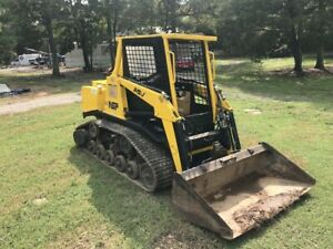 Asv Md70 Tracked Skid Steer high Flow per Emissions bucket And Grapple Included