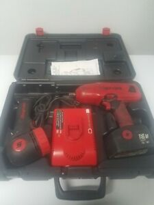Snap On Ct6850 18v 1 2 Impact Gun W Battery Light Case And Charger Cordless