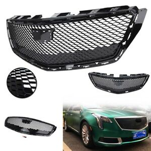 Front Grille Grill Black Abs Plastic Fit Cadillac Xts Sedan 2018 2020 2019 Car