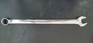 Snap On 18mm Metric 12 Point Long Combo Wrench Oexlm18b