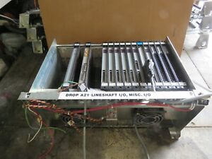 Reliance Electric 17 Slot Rack Used