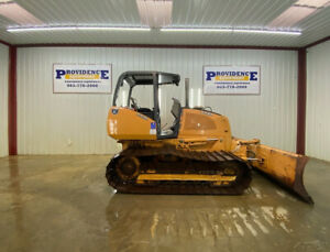 2012 Case 650 L Lgp Orops Crawler Dozer Has 27 Wide Tracks
