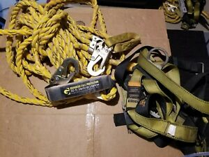 Guardian Fall Protection Kit 50 Vertical Lifeline W S l Velocity Harness
