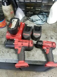 Snap On 18v Cordless Impact Set Ct6818 Ct4418