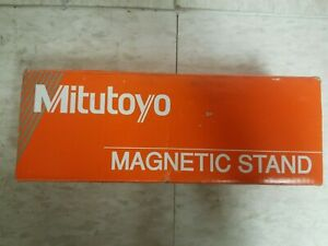 Mitutoyo Magnetic Stand Base Indicator Holder 7010 Sn New In Box