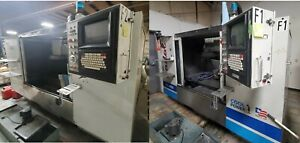 1999 Fadal 4020a And 1995 4020ht Cnc Milling Machine Cat 40