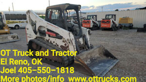 2013 Bobcat T750 Track Skid Steer Loader Used