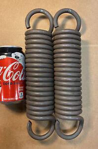 393 Wire Heavy Duty Extension Spring Lot Of 2