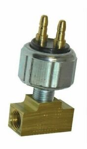 Ford Brake Low Pressure Switch Inline 3 8 24 Special Brass Tee Hot Rod