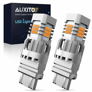 Auxito 3156 3157 4157 Led Turn Signal Light Bulbs Canbus Anti Hyper Flash Amber