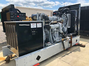 Detroit Diesel 275gsb 275kw Natural Gas Generator Set