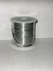 Tinned Copper Wire 12 Awg 16 Oz Spool 50 Feet Diameter 0 080