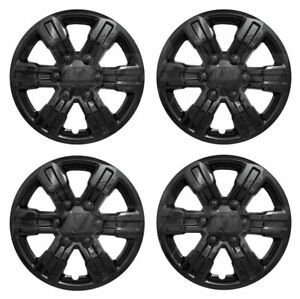 16 Black Wheel Covers Hubcaps Set Of 4 For 2019 2020 Ford Ranger Xl