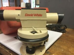 David White Alp 18 Transit With Hard Case tripod