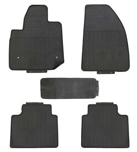 Floor Mats For Cadillac Xt5 2017 Custom Fit Rubber All Weather