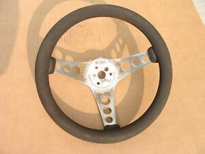 Superior Performance Products The 500 Chrome 3 Spoke 12 Foam Steering Wheel