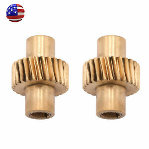 2pcs Power Electric Seat Control Adjust Wheel Gear For Toyota Land Cruiser Lc80
