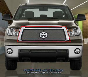 Main Upper Mesh Grille Grill For Toyota Tundra 2010 2011 2012 2013