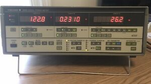 Yokogawa 2533 Digital Power Meter Three Phase With Gp ib