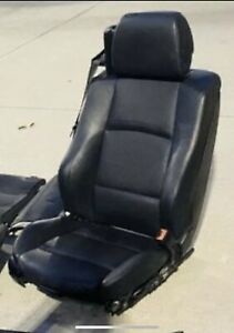 Heated Leather Sport Seat Left Oem 2007 2013 Bmw E93 335i 328i Convertible